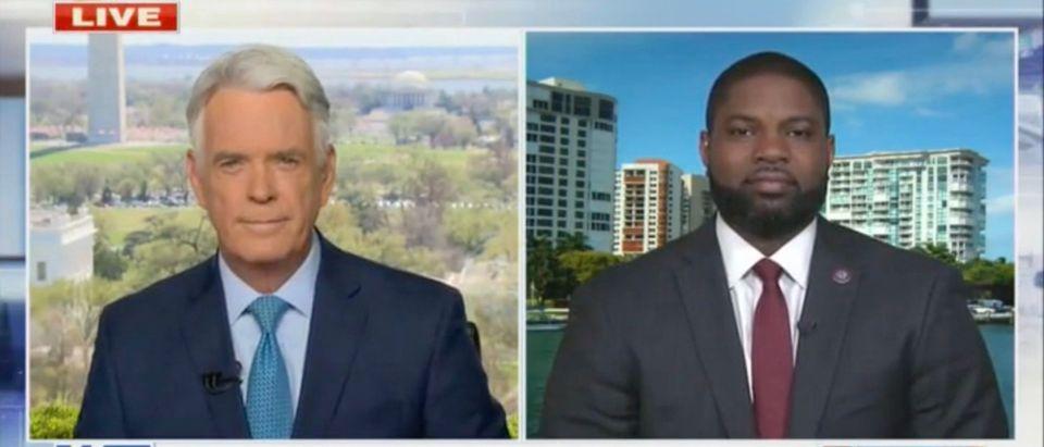 John Roberts and Rep. Byron Donalds (Screenshot/Fox News)