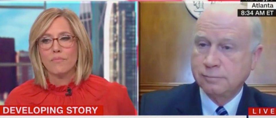 Alisyn Camerota and Butch Miller (Screenshot/CNN)