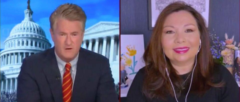 Joe Scarborough and Sen. Tammy Duckworth (Screenshot/MSNBC)