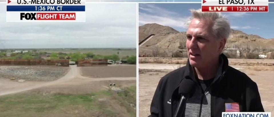 Screen Shot_Fox News_Kevin McCarthy_Border