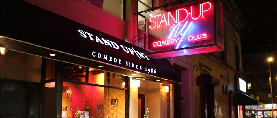 Storefront of Stand Up New York