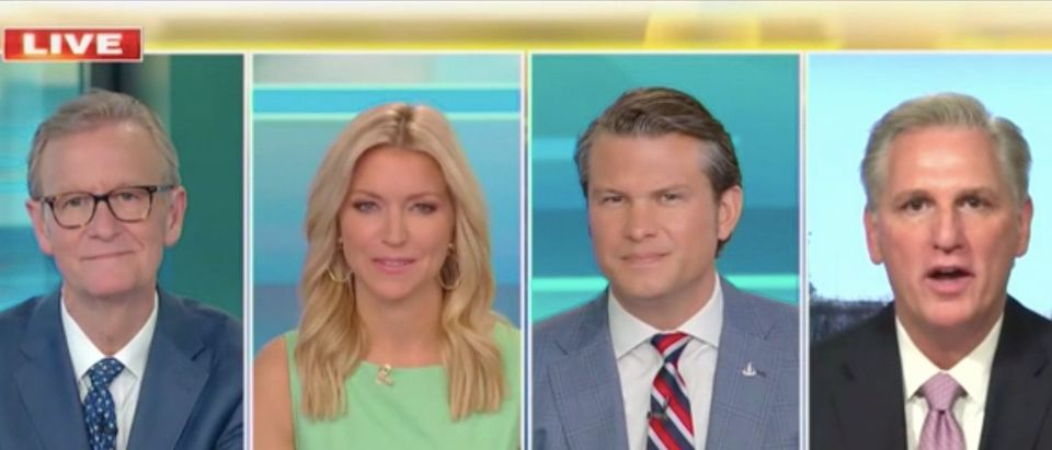 "House Minority Leader Kevin McCarthy appears on ""Fox & Friends"""