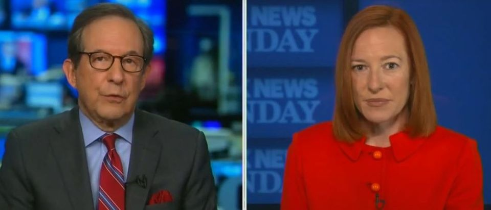 Wallace presses Psaki on filibuster policy shift (Fox News screengrab)
