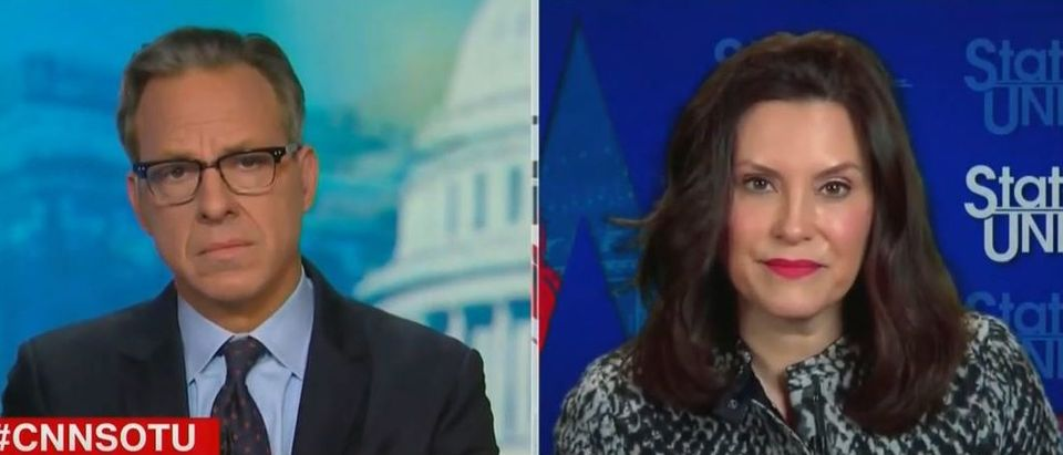 Whitmer supports investigations into Cuomo allegations (CNN screengrab)