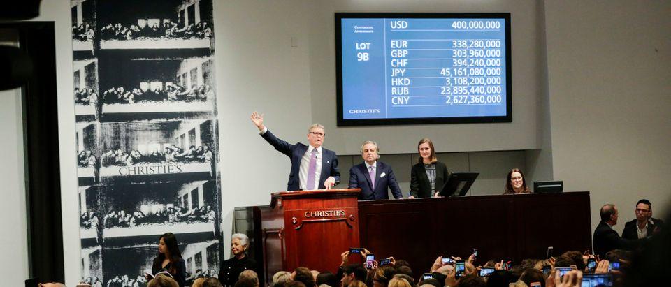 "Christie's To Auction Leonardo da Vinci's ""Salvator Mundi"" Painting"