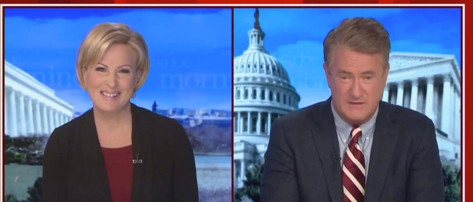 MSNBC host Joe Scarborough criticized President Joe Biden's administration for its message about the border situation. (Screenshot MSNBC)