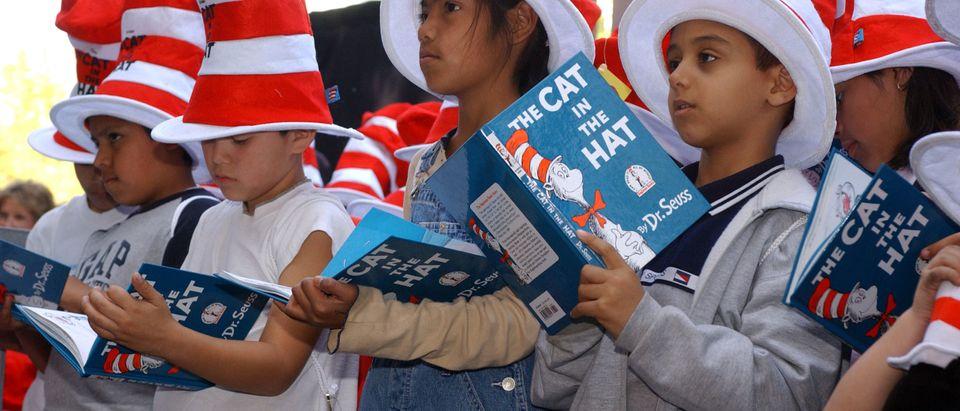 Dr. Seuss Receives A Star On The Hollywood Walk Of Fame