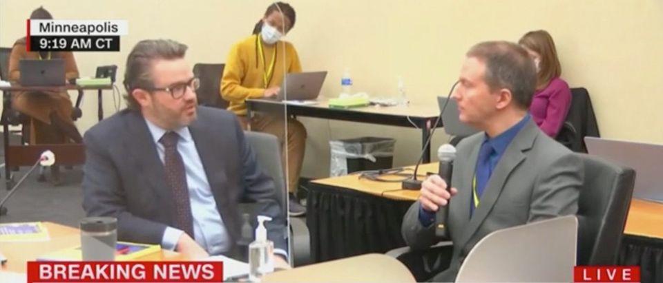 CNN Screenshot - Chauvin trial
