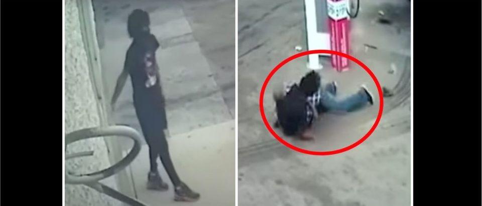 Car Jacking Suspect (Credit: Screenshot/YouTube Video https://www.youtube.com/watch?v=52OC8Rl99s0)