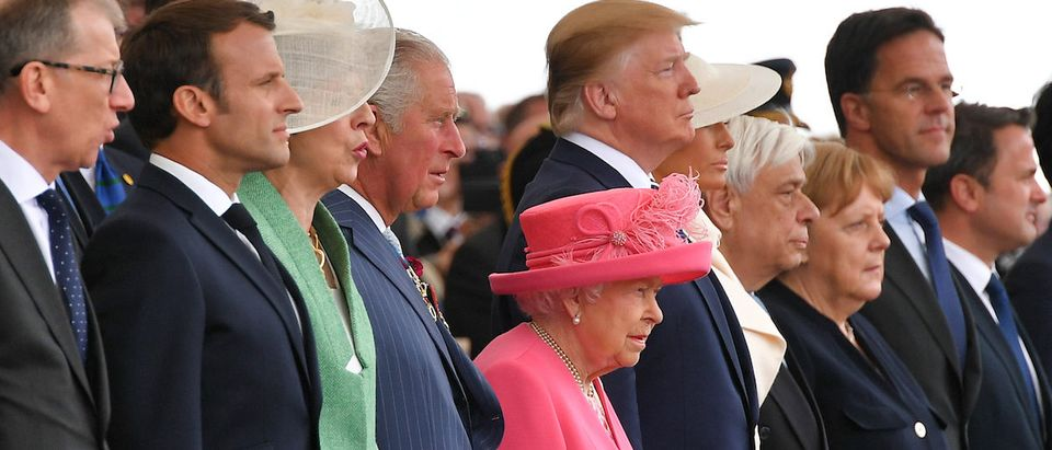 BRITAIN-FRANCE-US-WWII-DDAY-ANNIVERSARY-DIPLOMACY