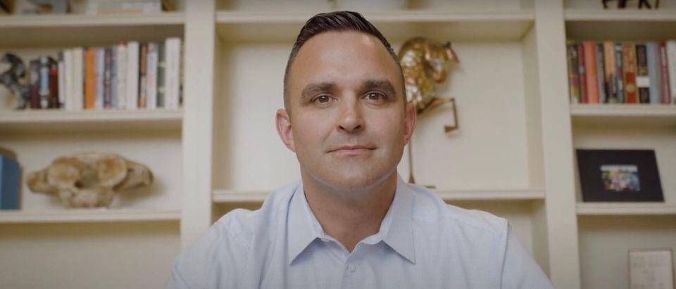 Garrett Soldano campaign ad for Governor [Youtube:Screenshot:Garrett For Michigan]