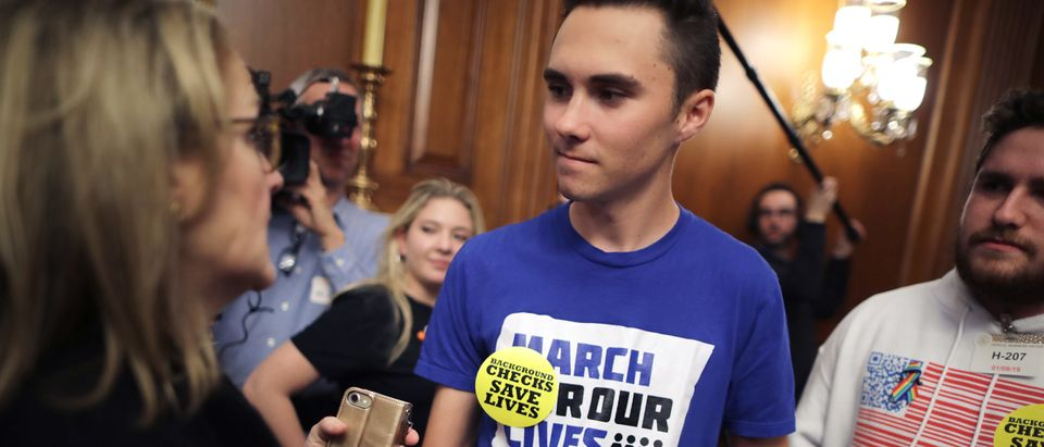 Two Months In, David Hogg Abandons Liberal Pillow Business