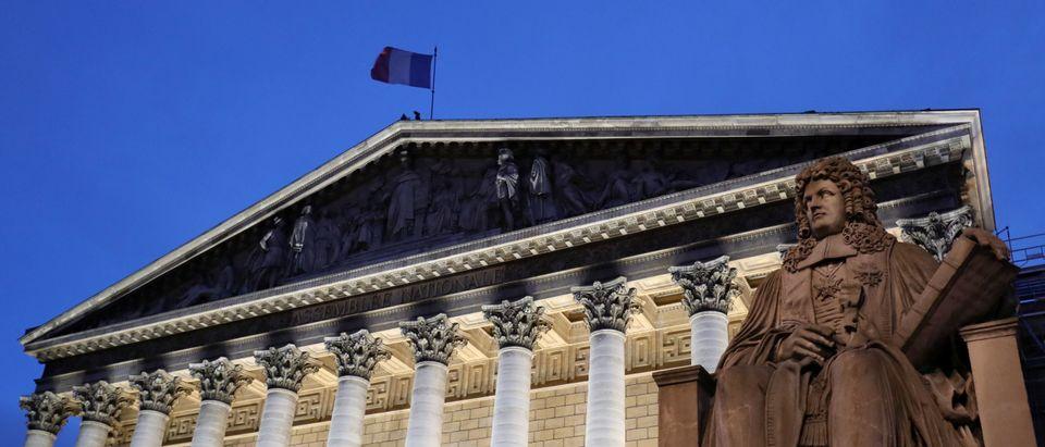 FRANCE-PARLIAMENT-ARCHITECTURE-ART
