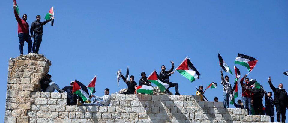 PALESTINIAN-ISRAEL-CONFLICT-SETTLEMETS-DEMO