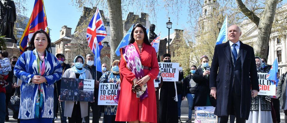 BRITAIN-CHINA-POLITICS-DIPLOMACY-UYGHURS