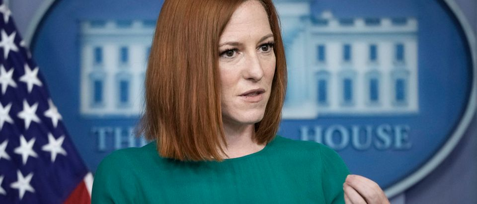 White House Press Secretary Psaki Briefs Media
