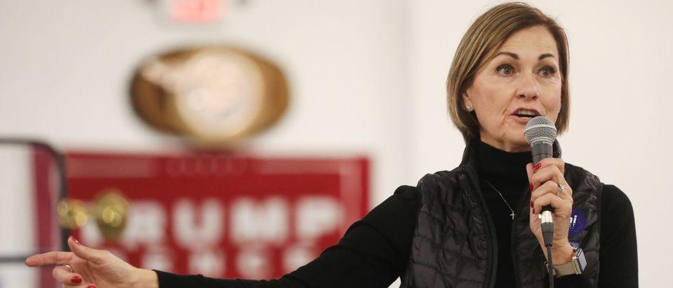 GOP Senate Candidate Joni Ernst Campaigns In Eastern Iowa