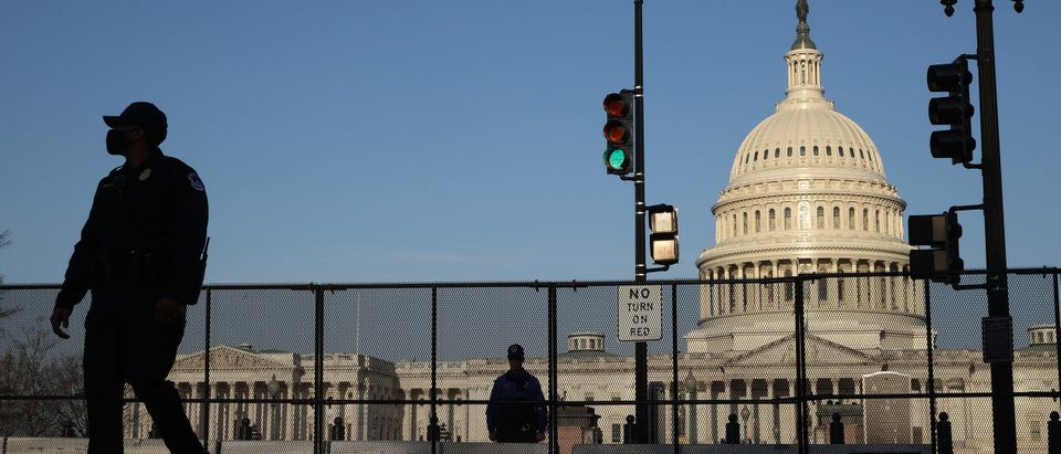 Security Around Capitol Building Remains Heightened After Friday's Deadly Attack