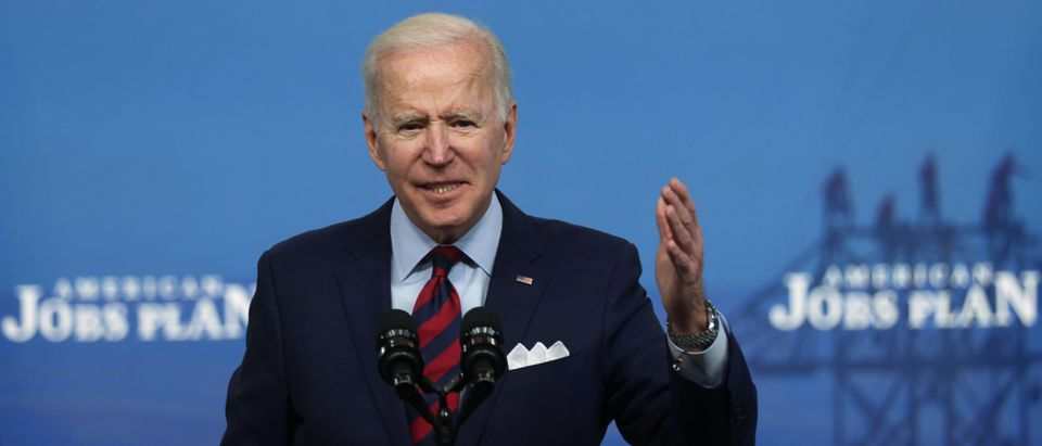 President Biden Delivers Remarks On His American Jobs Plan