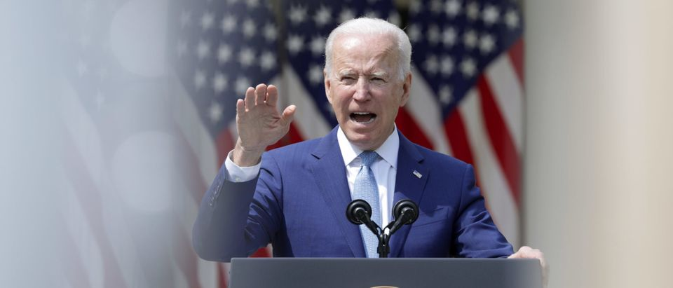 President Biden Delivers Remarks On Gun Violence Prevention From White House Rose Garden