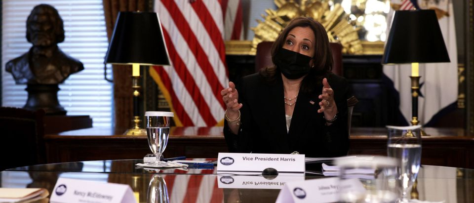 Vice President Harris Holds Virtual Meeting With National Security Experts