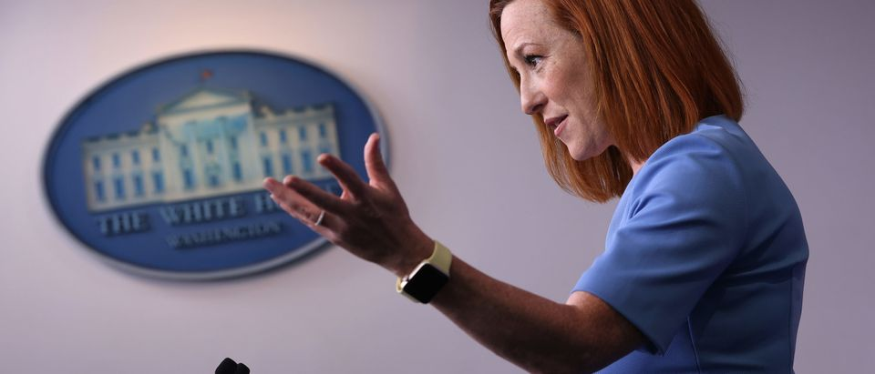 Press Secretary Jen Psaki Holds Daily Briefing At The White House