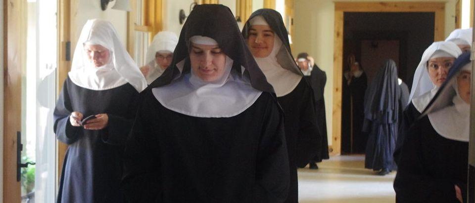 Photo courtesy of the Benedictines of Mary.
