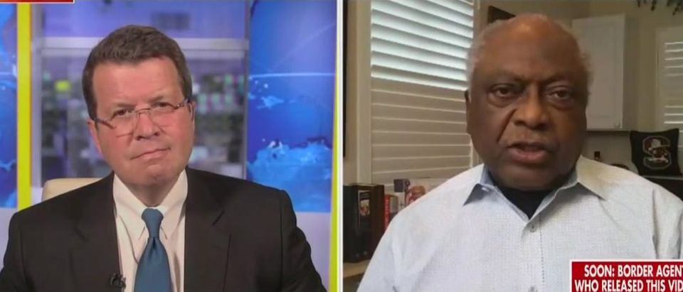 Neil Cavuto presses Clyburn on infrastructure bill (Fox News screengrab)