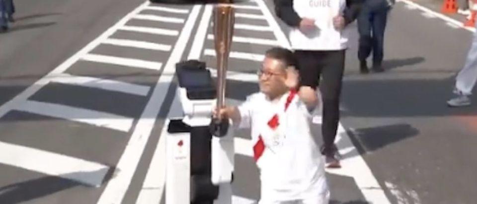 Olympics Robot Torch
