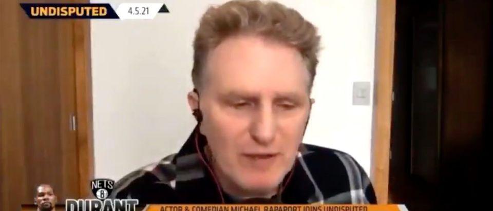 Michael Rapoport (Credit: Screenshot/Twitter Video https://twitter.com/BeatinTheBookie/status/1379150291912773636)