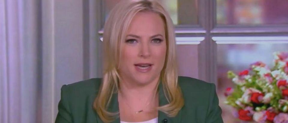 "Meghan McCain appears on ""The View."" Screenshot/ABC"