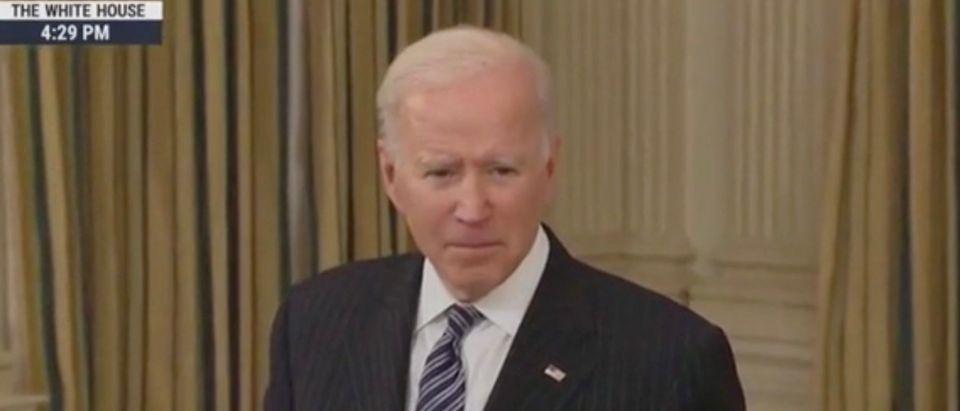 President Joe Biden (Screenshot/MSNBC)