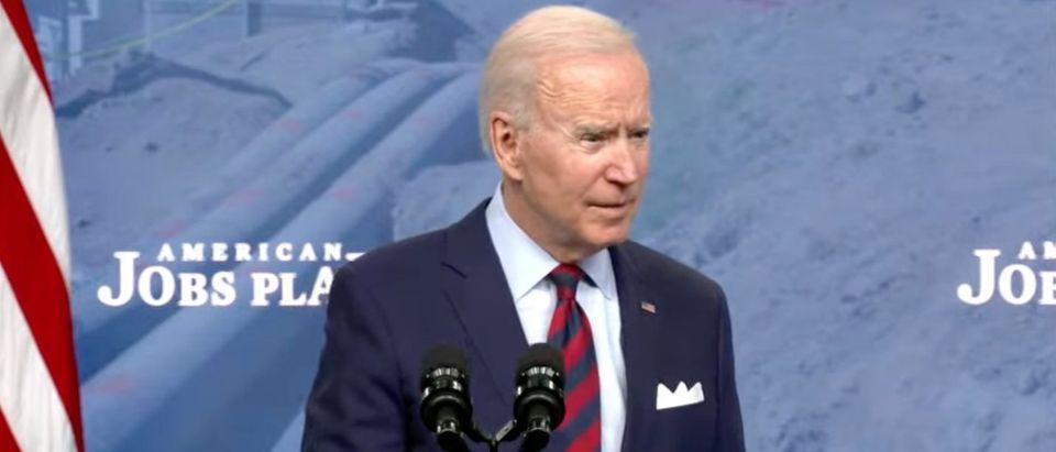 Joe Biden (screenshot, White House YouTube)