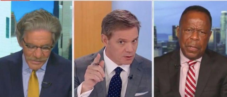 "Geraldo Rivera and Leo Terrell join Bill Hemmer on ""America's Newsroom."" Screenshot/Fox News"