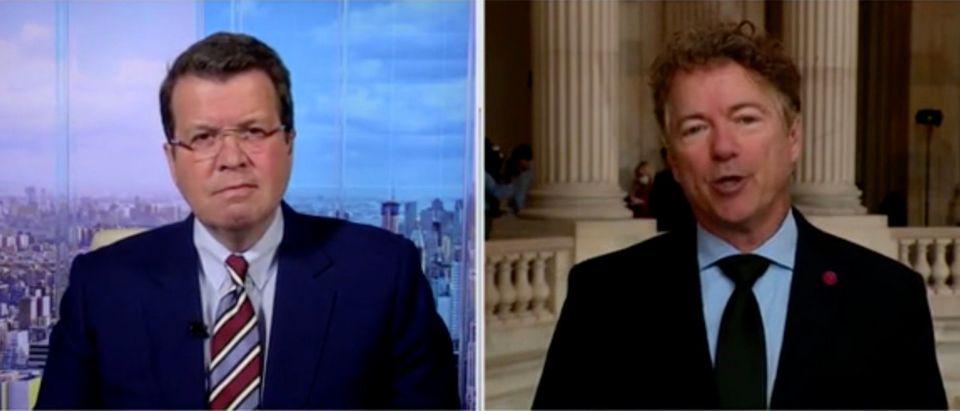 Neil Cavuto and Sen. Rand Paul (Screenshot/Fox Business)