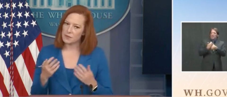 Jen Psaki (Screenshot/WH.gov)