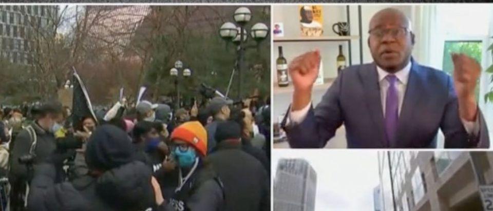 Jason Johnson weighs in on Derek Chauvin verdict. Screenshot/MSNBC