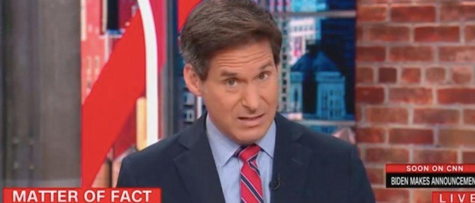 "John Berman hosts ""New Day."" Screenshot/CNN"