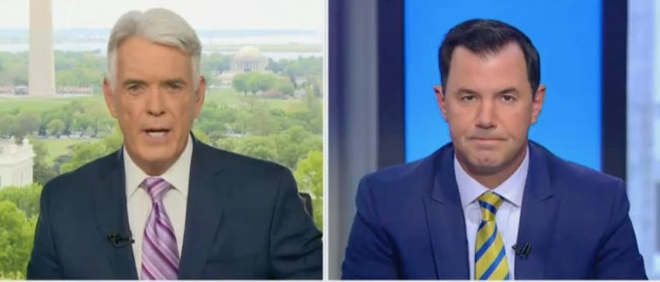 "John Roberts and Joe concha appear on ""America Reports."" Screenshot/Fox News"