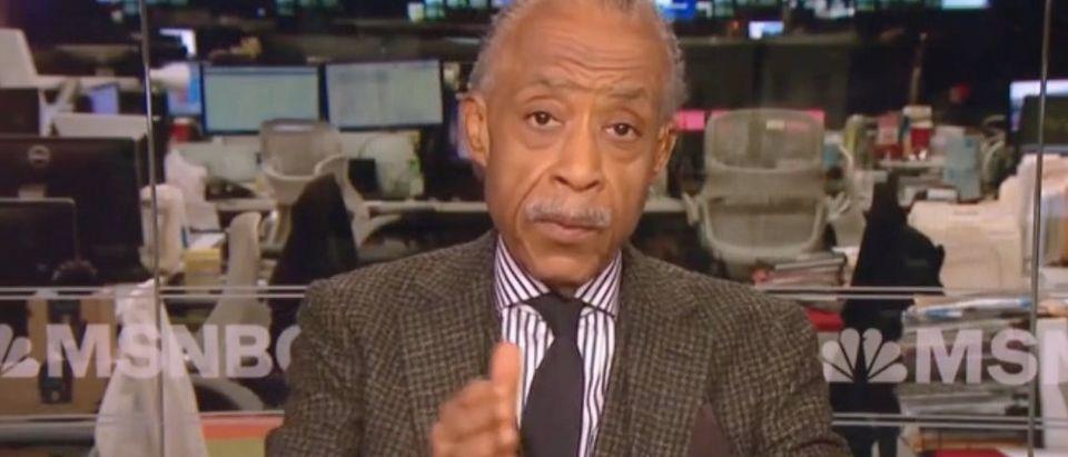 "Al Sharpton appears on ""Morning Joe."" Screenshot/MSNBC"