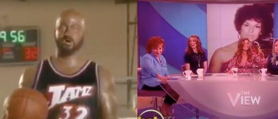 Jimmy Kimmel and Joy Behar in blackface. Screenshot/YouTube/FactGod/TheDC Shorts