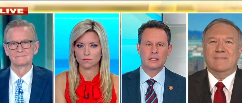 Mike Pompeo Fox and Friends