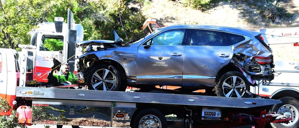 Golf-USPGA-Woods-accident