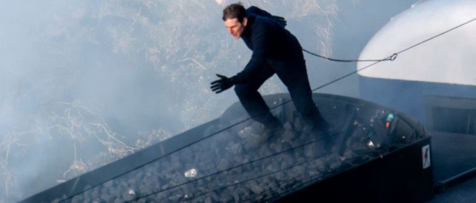 Tom Cruise Is Seen Jumping Between Train Wagons During Action Packed Mission Impossible 7 Scenes