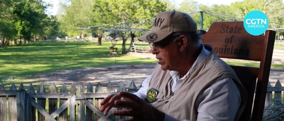 Lt. Gen. Russel Honoré (Ret.) (YouTube screen capture/CGTN America)