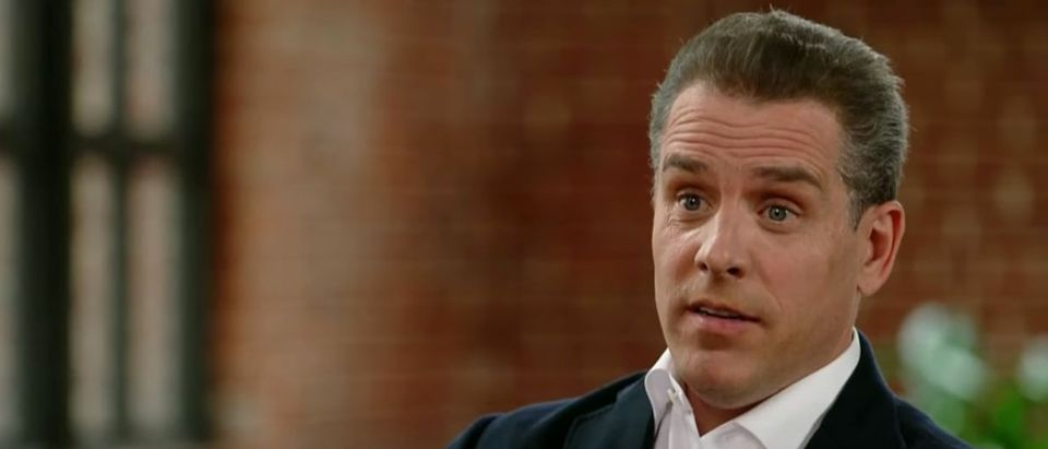 Hunter Biden interview on CBS This Morning, April 5, 2021. (YouTube screen capture/CBS This Morning)