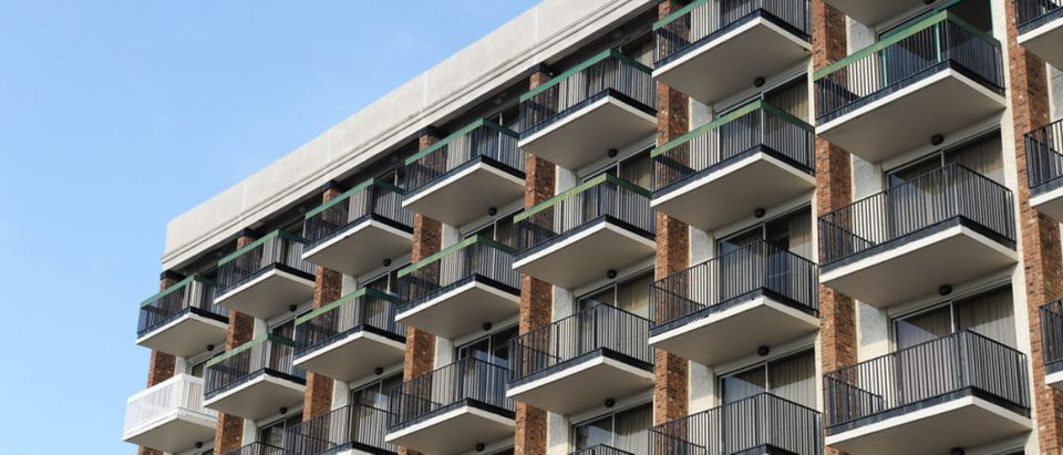 Balconies,Outside,Hotel,Building
