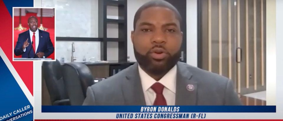 Byron Donaldse (R-FL) speaks about racism [Daily Caller]