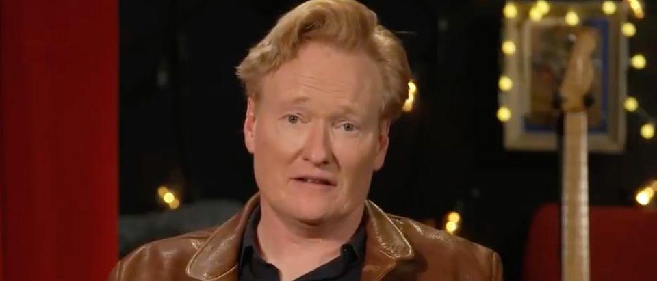 Conan (Credit: Screenshot/Twitter Video https://twitter.com/TeamCoco/status/1389403610971140098)