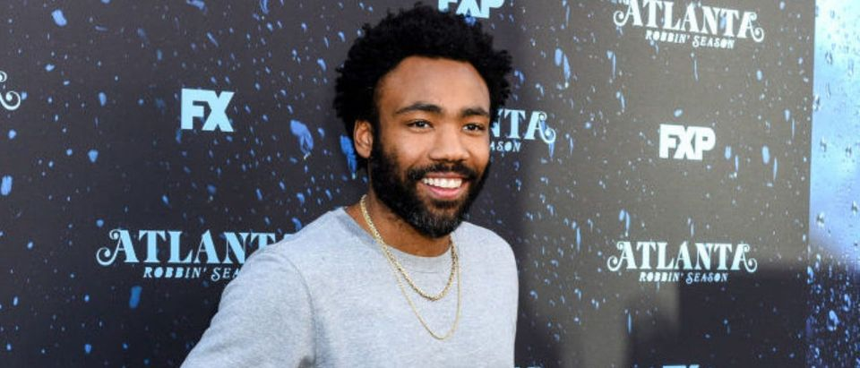 """NORTH HOLLYWOOD, CA - JUNE 08: Donald Glover attends FX's """"Atlanta Robbin' Season"""" FYC Event at Saban Media Center on June 8, 2018 in North Hollywood, California. (Photo by Presley Ann/Getty Images)"""